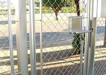 Portões feito de alambrado