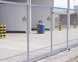 Portão tipo alambrado