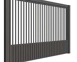 Portão de aço sp