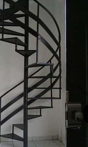 Escada caracol de ferro preço SP