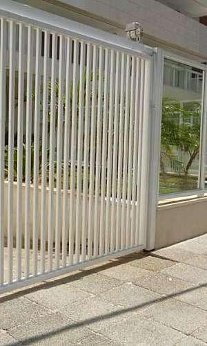 Portão automático tubular