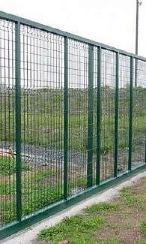 Portão de alambrado