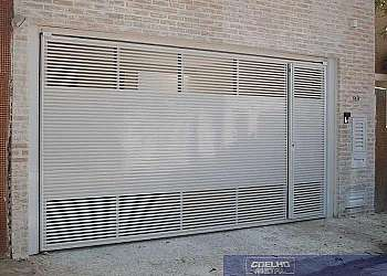 Portões de alumínio modelos