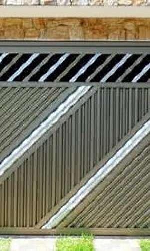 Preço portão de alumínio