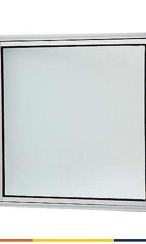 Vitrô basculante alumínio branco
